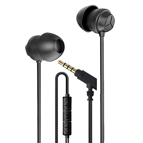 CHOUETTE-Sleeping Earbuds-Untra Comfortable Earphones with MIC & Volume Control