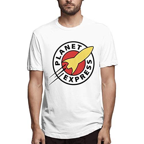 chenche Planet Express - Camiseta de manga corta para hombre - blanco - Medium