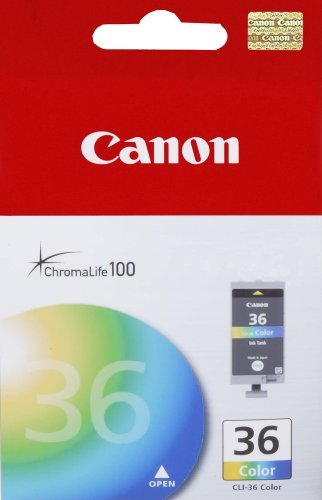 Canon CLI-36 Color Ink Tank Compatible to mini320, mini260, iP100, iP110