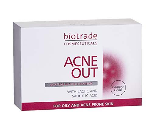 Seife 100g Salicylsäure Poren Peeling Akne Bekämpfen für Fettige Haut Mit Pickel Beseitigt Mitesser und Unvollkommenheiten Verfeinert Die Poren Von Biotrade
