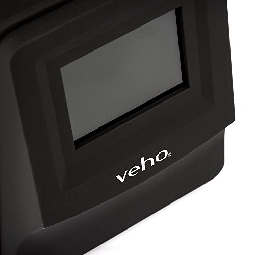 Veho Smartfix Portable Negative Film & Slide Scanner with 135 Slider Trays for 135/110/126 – Black (VFS-014-SF)