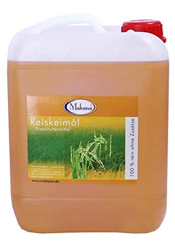 Makana Reiskeimöl für Tiere, raffiniert, 100% rein, 5000 ml Kanister (1 x 5 l)
