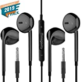 Best Earbuds With Volume Controls - Timegevity Headphones/Earphones/Earbuds,3.5mm aux Wired Headphones Noise Isolating Earphones Review
