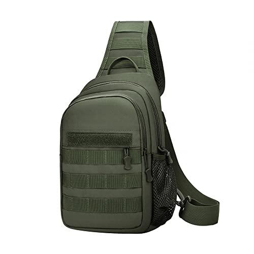 Mochila táctica, bolsa de deporte militar, bolsa de hombro militar Rover bolsa de rango de asalto Molle con soporte para botella EDC Paquete de rango de asalto
