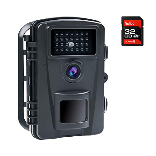 COOLIFE 16MP 1080P HD Wildkamera Fotofalle