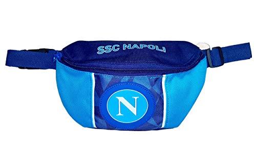SSC Napoli Napoli Sprint Gürteltasche 23 Centimeters Blau (Dresden Blue)