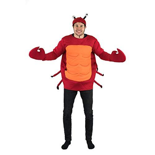 Bodysocks® Disfraz de Cangrejo Adulto