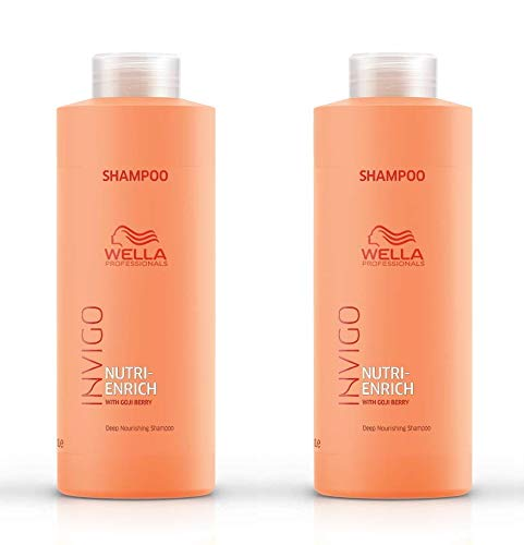 2 er Pack Invigo Nutri-Enrich Shampoo 1000 ml