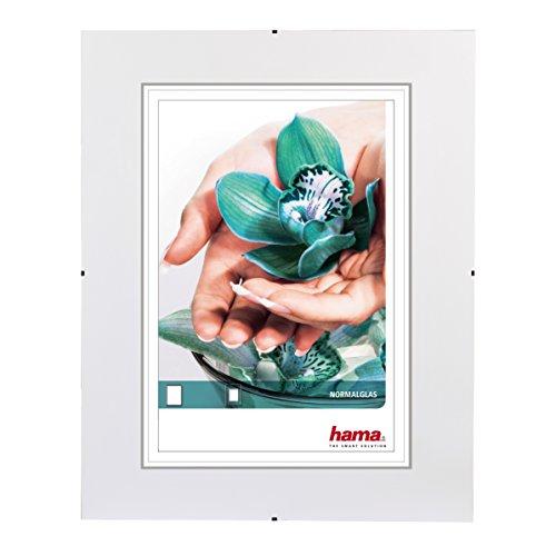 Hama Clip-Fix - 24 x 30 cm Transparente - Marco (Vidrio, Transparente, 15 x 20 cm, 240 mm, 300 mm)