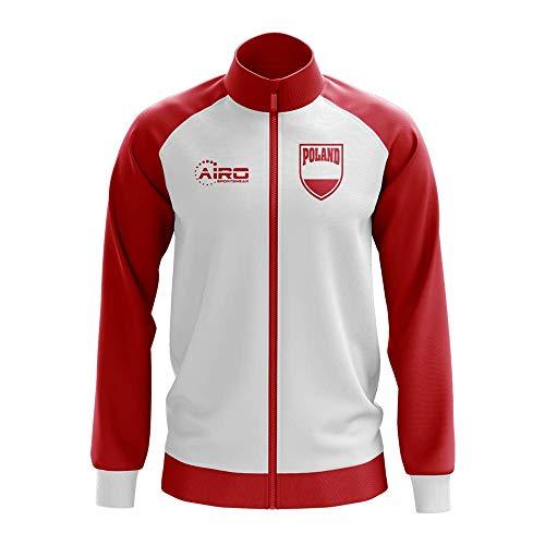 Airosportswear Poland Concept Football Track Jacket (White)