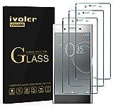 ivoler [3 Unidades] Protector de Pantalla para Sony Xperia XZ Premium, [Cobertura Completa] Cristal Vidrio Templado Premium, [Dureza 9H] [Anti-Arañazos] [Sin Burbujas]