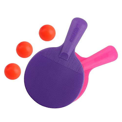 Best Review Of NewPinky Professional Table Tennis Sports Trainning Set Racket Net Ping Pong Sports E...