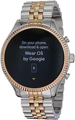 Michael Kors Smartwatch Touchscreen Connected Donna con Cinturino in Acciaio Inossidabile MKT5080, Multicolore