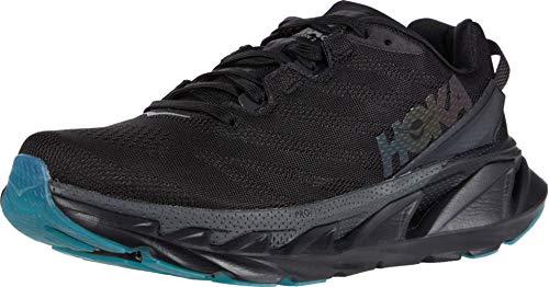 Hoka One 1106478-BDSD: Womens Black/Dark Shadow Elevon 2 Sneakers, Black/Dark Shadow, 9.5 B(M) US Women