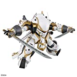 HG サクラ大戦 霊子戦闘機・無限(神山誠十郎機) 1/24スケール 色分け済みプラモデル_05