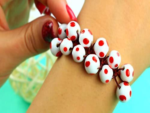 Do It Yourself Shamballa Bead Bracelet Tutorial