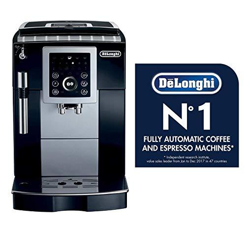 DeLonghi ECAM23210 Compact Magnifica S Super-Automatic Espresso Machine Beverage Center (Black) (Renewed)