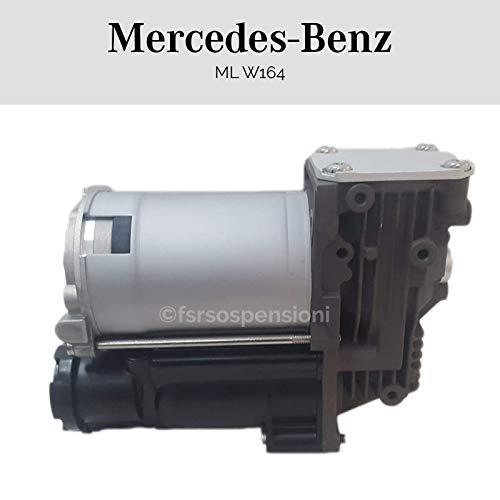 M E R C E D E S CLASSE ML W164 A1643201204 - Compressore Per Sospensione Ammortizzatore Soffione Molla Ad Aria WMCS0105