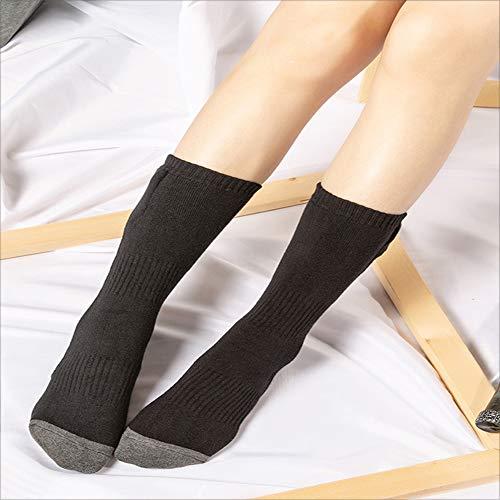 LGFV 2500 MAH Rechargeable Chauffage Socks Température Réglable Temps De Travail Jusqu'à 6 Heures Idéal Cadeau De Noël