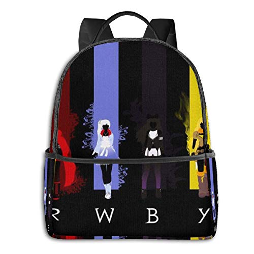 XCNGG RWBY Team RWBY Colours Student School Bag School Cycling Leisure Travel Camping Outdoor Backpack