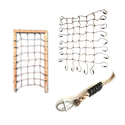 1 Stück h2i Kinder Kletter Netz 200 x 100 cm für Rahmen (Rahmen nicht im Lieferumfang!)