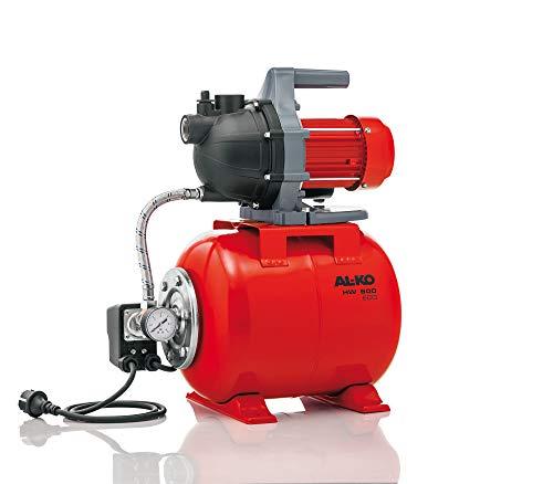 AL-KO Hauswasserwerk HW 600 ECO, 580 Watt Motorleistung, 35 m max. Förderhöhe, 3.000 l/h max. Fördermenge