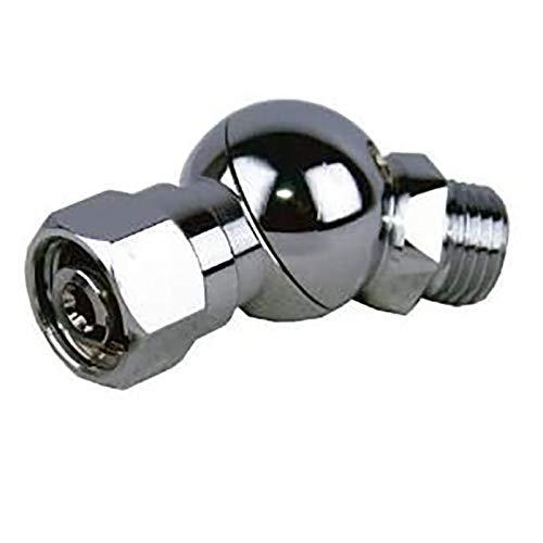 Gfhrisyty Regulador de Buceo Adaptador de Manguera Giratoria de Baja PresióN de 360 Grados Conector del Regulador de Buceo