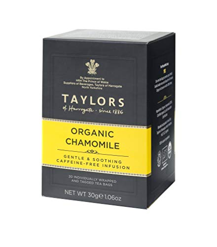 Taylors of Harrogate Organic Chamomile  Herbal Tea, 20 Teabags