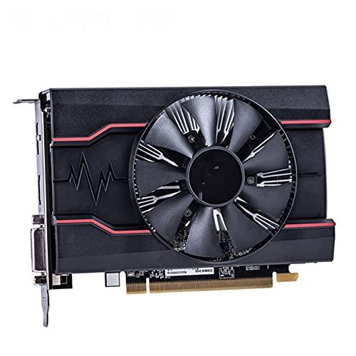 Fit for Sapphire RX 550 Tarjetas de Video de 2GB GPU AMD Radeon RX550 2GB GDDR5 Tarjetas gráficas PC Escritorio computadora Mapa de Juegos PCI-E X16