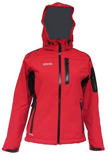 SANNY NordBlanc Damen Performance Softshell Ski Jacke rot 36-48