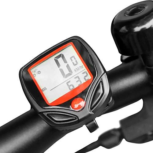 LQUIDE Ordinateurs de Cyclisme, Affichage LCD numérique sans Fil de la Route étanche Compteur de Vitesse de vélo Accessoires chronomètre Accessoires