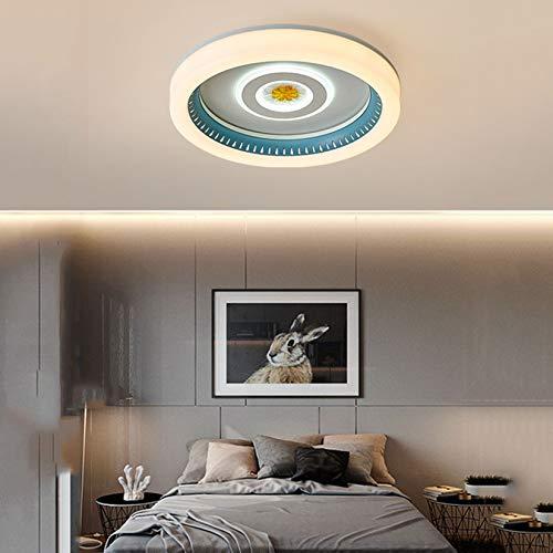 Luz De Techo De Montaje Empotrado Regulable LED Moderna De 60 W, Luces De Techo Cambiables De 3 Colores con Hierro Forjado para Sala De Estar, Dormitorio, Oficina,2