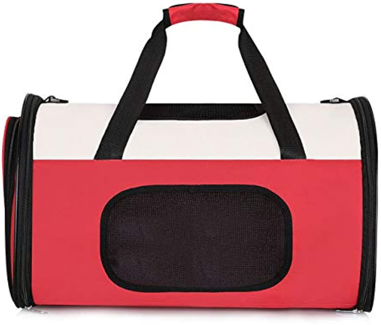 Pet Backpack Airline Approved Pet Carriers,Soft Sided Collapsible Pet Travel Carrier for Medium Puppy and Cats