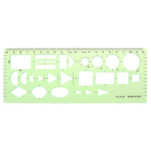 Kreis Vorlage Geometrische Zeichnungen Vorlage Messlineal Kunststoff Quadrat Runde Messvorlage Schablone Gebäude Schalung Zeichnungen Vorlagen