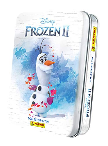 Panini France - Caja de metal con 8 fundas, diseño de Frozen 2 Movie 2019, 2533-021 , color/modelo surtido
