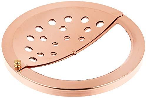 新光金属『純銅排水溝スライドフタ』