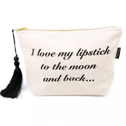 Maquillage Sac 'Rouge à lèvres lune '