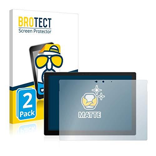BROTECT 2X Entspiegelungs-Schutzfolie kompatibel mit Microsoft Surface Pro 7 Plus Bildschirmschutz-Folie Matt, Anti-Reflex, Anti-Fingerprint