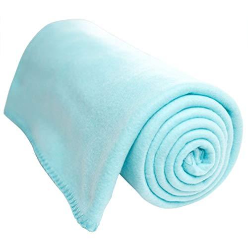 OCM Aqua Micro Fleece Throw
