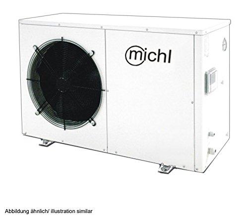 Michl TWRE-K03 Luft/-Wasser Wärmepumpe 8.3 kW 220 V, weiß 1170x470x720 mm