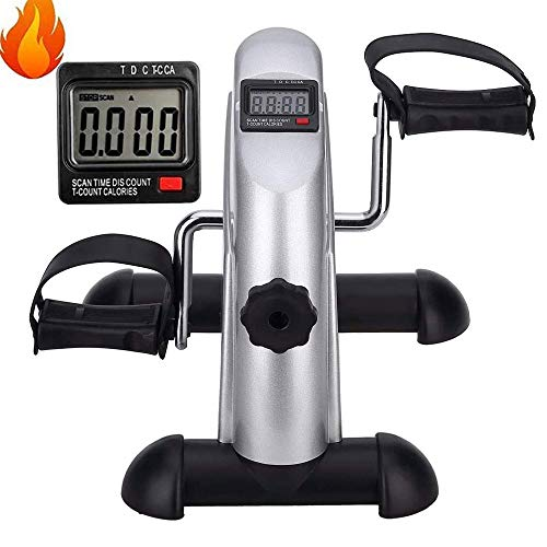 Review Of CCTYCC Mini Exercise Bike, with LCD Display Adjustable Resistance 13.315.712.2 Inch Abs St...