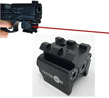 TACTICON Laser Sight   Rifle Handgun   Weaver or Picatinny Rail   Red Dot Lazer Sight Pistol   Tactical Sights Airsoft   Laser Sight   Scope Hand Gun Rifles   Laser Pointer Pistol   Air Soft Optic