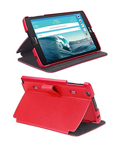 Verizon Folio Case for LG G Pad X8.3 - Red