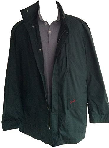 Suixtil Men's Zandvoort Rain Jackets, British Green, XL