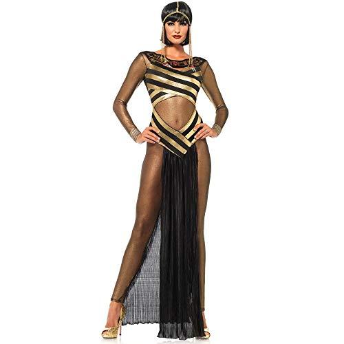 TTWL Womens Sexy Halloween Griego Diosa Cleopatra Ropa Cos Prom Bruja Juego Uniforme XL
