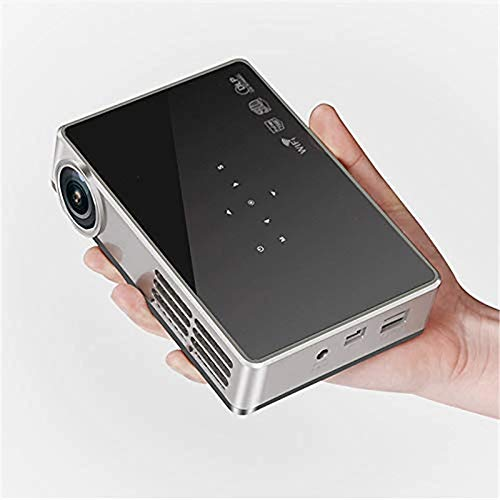 HTP Portable Android Handle DLP600W Wifi thuisbioscoop HD Mini Smart Projector