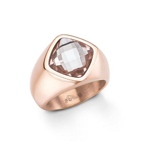 s.Oliver Jewel Damen-Ring Edelstahl Gr. 56 (17.8) 465373