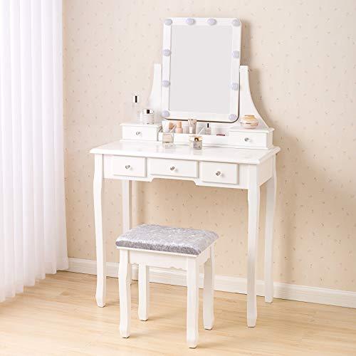 Canvas Vanity Table