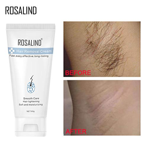 ROSALIND Hair Removal Cream Underarm Hand Leg Body Painless Effective...
