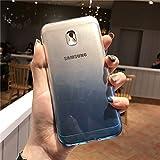 Coque Transparente dégradée pour Samsung Galaxy J3 J5 J7 2017 J2 Pro J4 J6 Prime A3 A5 A7 2016 Coque en Caoutchouc de Silicone...